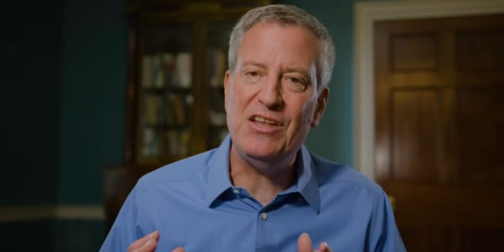Alcalde de Nueva York se postula para presidencia de EU