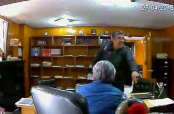 Circula video de asesinato de abogado