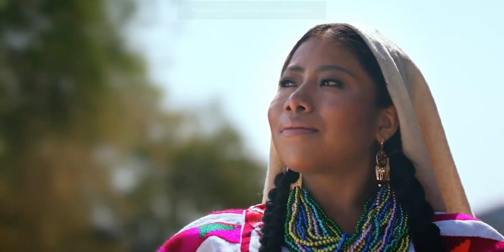 Se convierte Yalitza en imagen de la Guelaguetza 2019