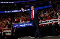 Comienza Trump campaña hacia reelección en EU