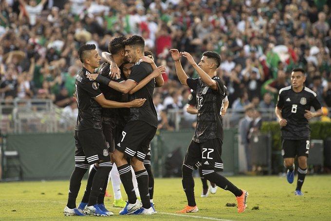México debuta con goleada en Copa Oro