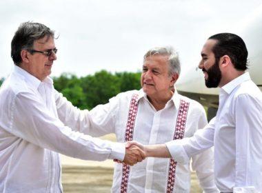 Firman México y El Salvador Plan Integral de Desarrollo