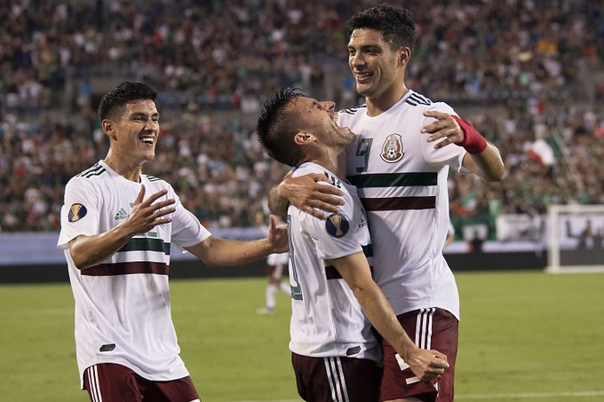 Sufrido triunfo del México ante Martinica