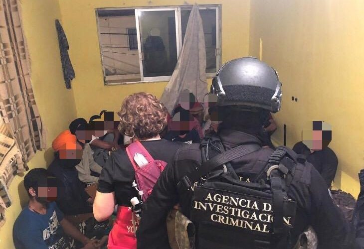 Rescata FGR a 24 migrantes procedentes de la India