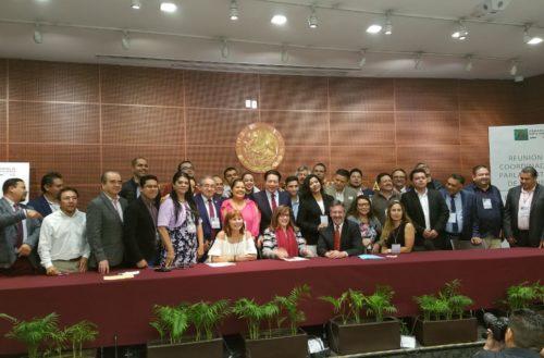 Firme y unida, estructura parlamentaria de Morena por la Cuarta Transformación