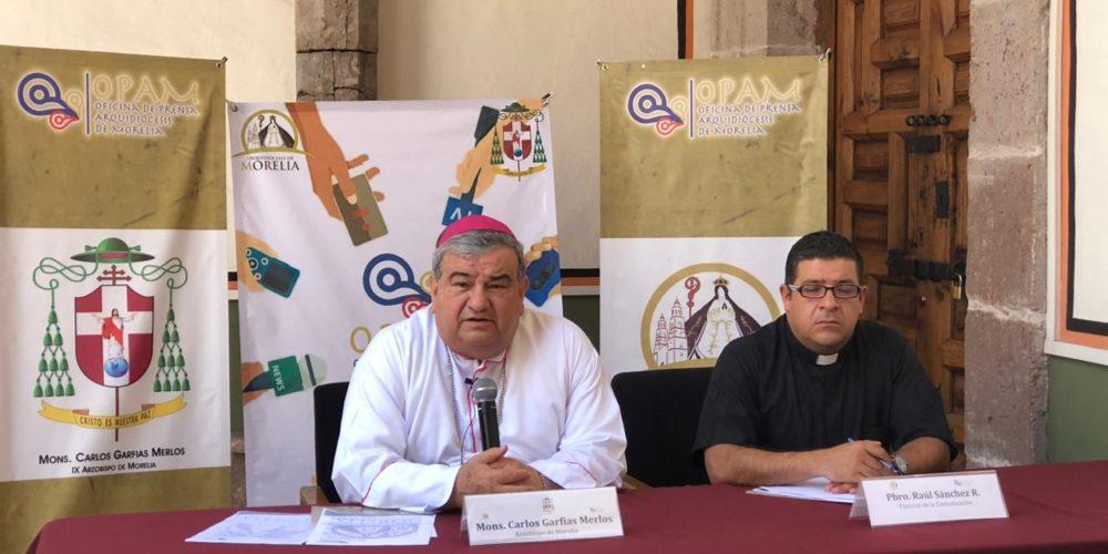 Amenazas de Trump solo palabras y no realidades: Arzobispo de Morelia