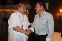 Acuerdan Carlos Herrera y el arzobispo Carlos Garfias agenda común por la paz