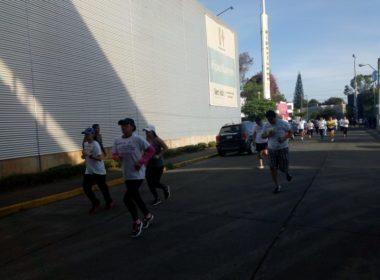 Más de mil personas corrieron para mejorar calidad del aire en Morelia