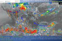 Onda tropical al sur de Oaxaca podría convertirse en ciclón