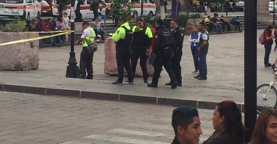 Fallece mujer en plaza Valladolid de Morelia