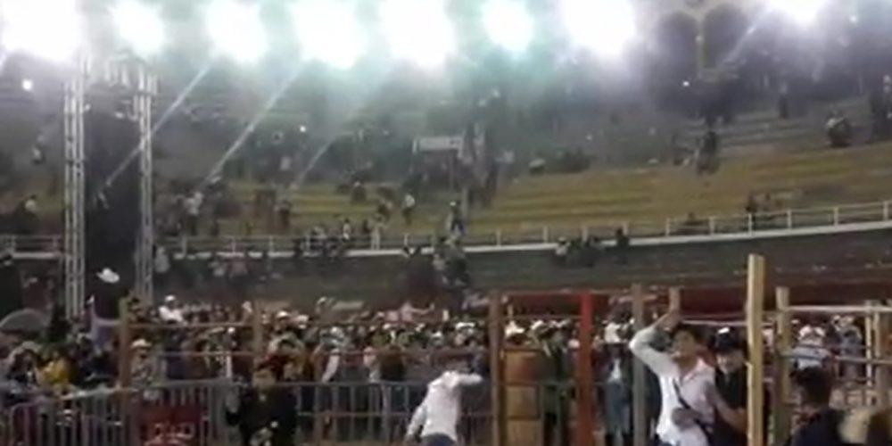 """En balacera termina concierto en la Plaza Monumental de Morelia"""""""