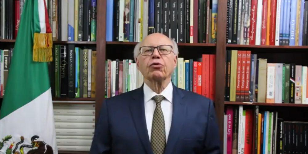 Renuncia José Narro del PRI