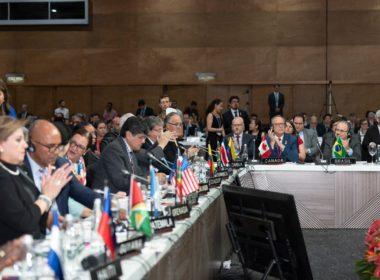 Uruguay se retira de asamblea de la OEA