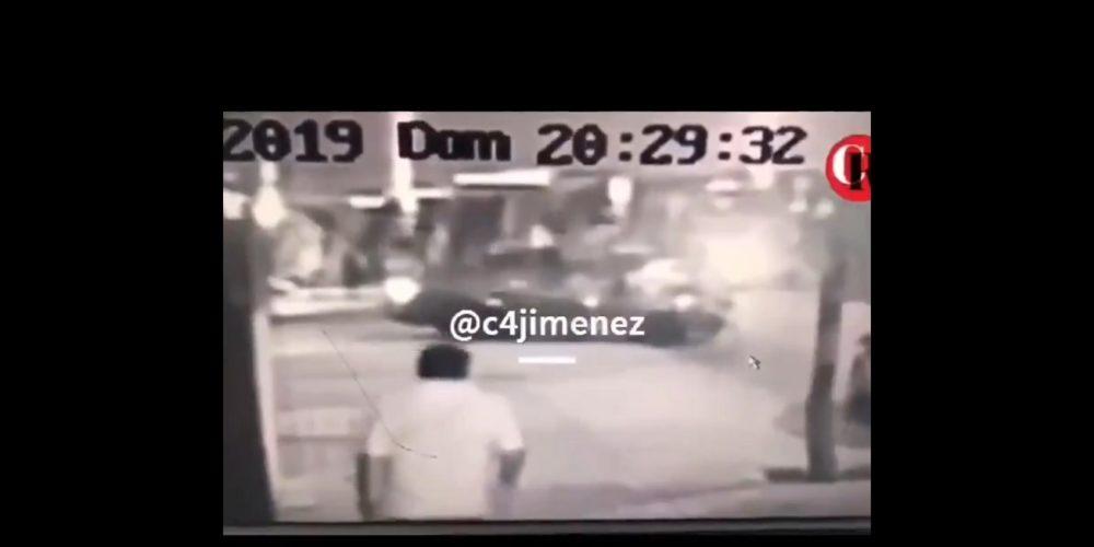 Captan en vídeo momento en que una joven es secuestrada