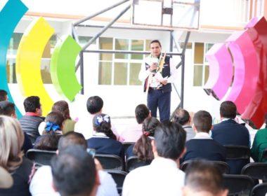 Evaluarán funcionarios federales condiciones de escuelas en Michoacán: Silvano