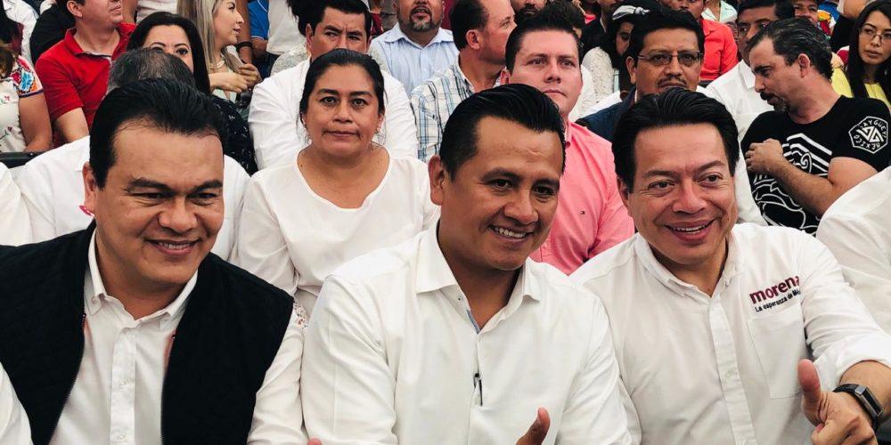 """Concluye la era """"ADN Michoacán""""; llega Carlos Torres a Morena"""