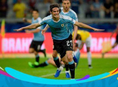 Marca Uruguay goleada ante Ecuador