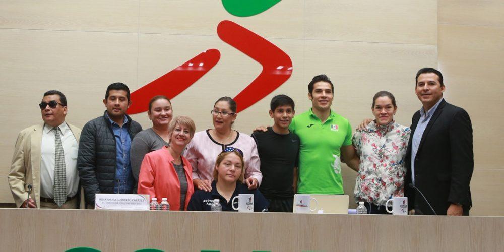 Edomex participará con 38 deportistas en los Juegos Parapanamericanos 2019