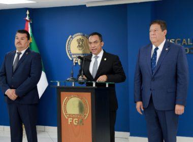 Fiscalía de Michoacán deberá atender detenidos e investigaciones de GN
