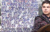 Alfredo Olivas es amenazado de muerte por grupos criminales