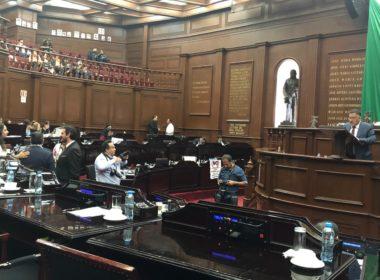 Prevalece desinterés de diputados de Michoacán en el salón de plenos