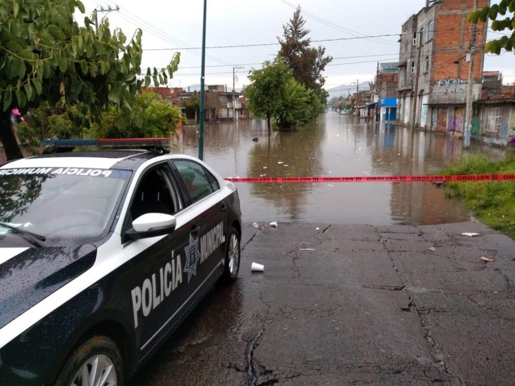 Activa Gobierno de Michoacán protocolo de seguridad tras inundaciones en Morelia