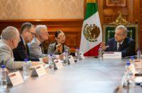 Concluye encuentro entre congresistas de EU y AMLO