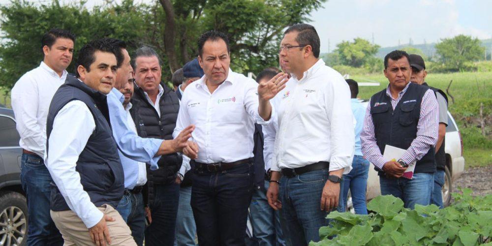 Coordina Carlos Herrera acciones para resarcir contingencia en Jiquilpan