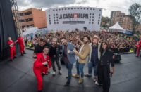 Bogotá fue sede para premiere de la nueva temporada de La Casa de Papel