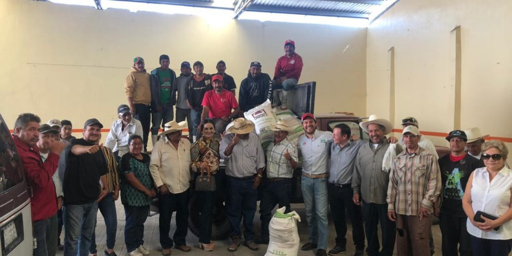La CNPR cumple a productores michoacanos
