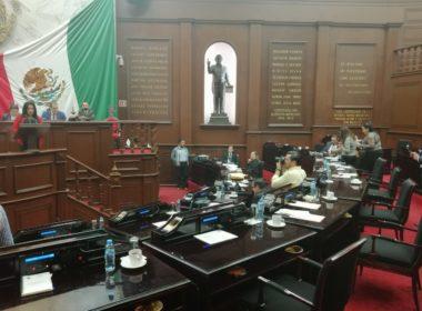 Sin quórum legal de desarrolla sesión en el Congreso de Michoacán