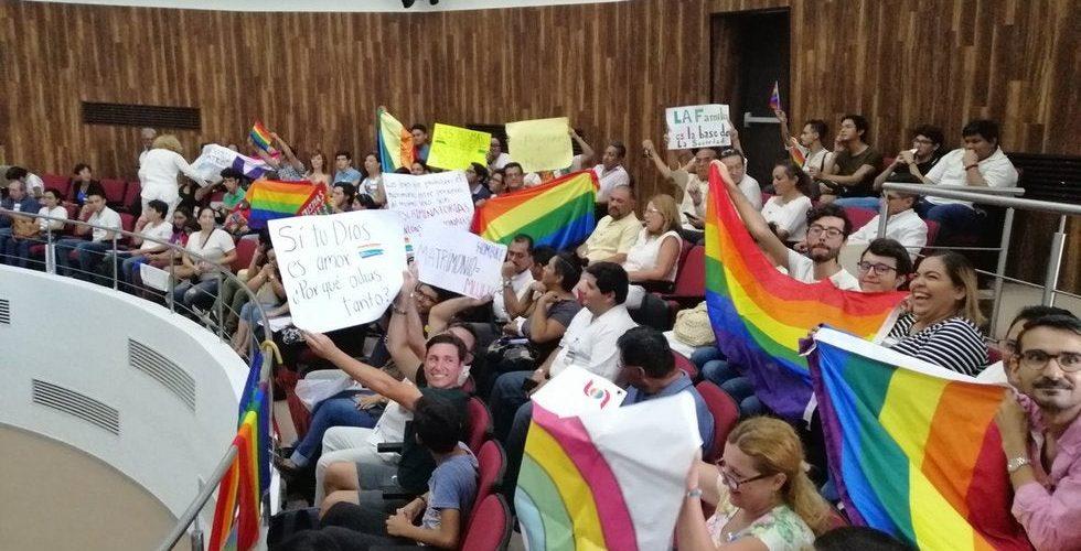 Otra vez 'no' a matrimonio igualitario en Yucatán