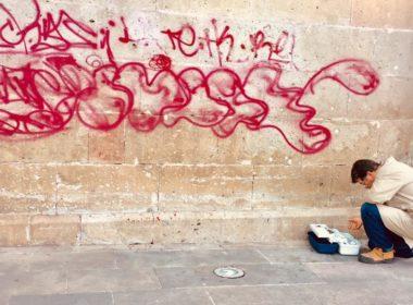 Coordinación del Centro Histórico registra 20 monumentos dañados por grafiti