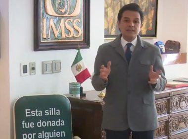 Director del IMSS invita a participar en campaña de donación