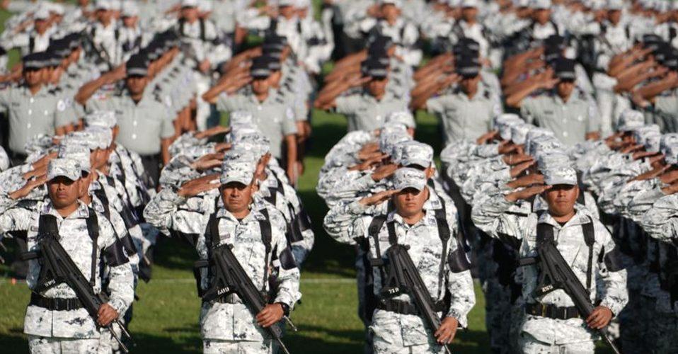Debuta Guardia Nacional en desfile militar del inicio de la independencia