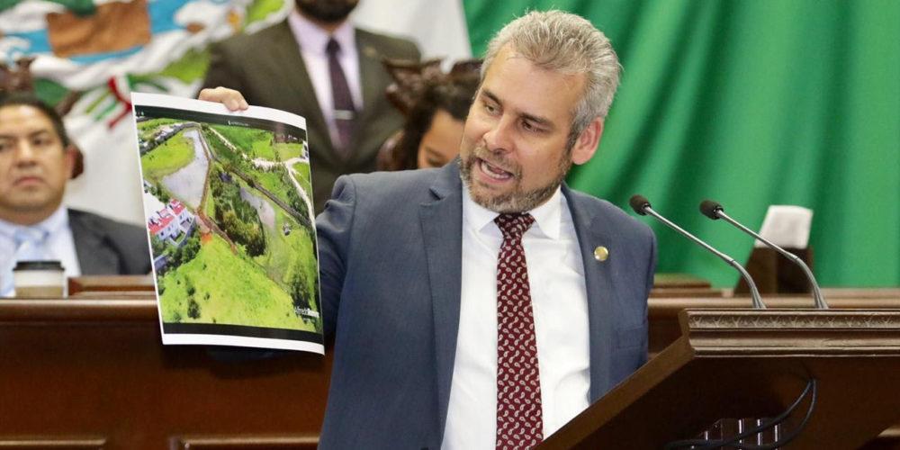 Congreso exhorta a que manantial El Mastranto sea zona de protección ecológica