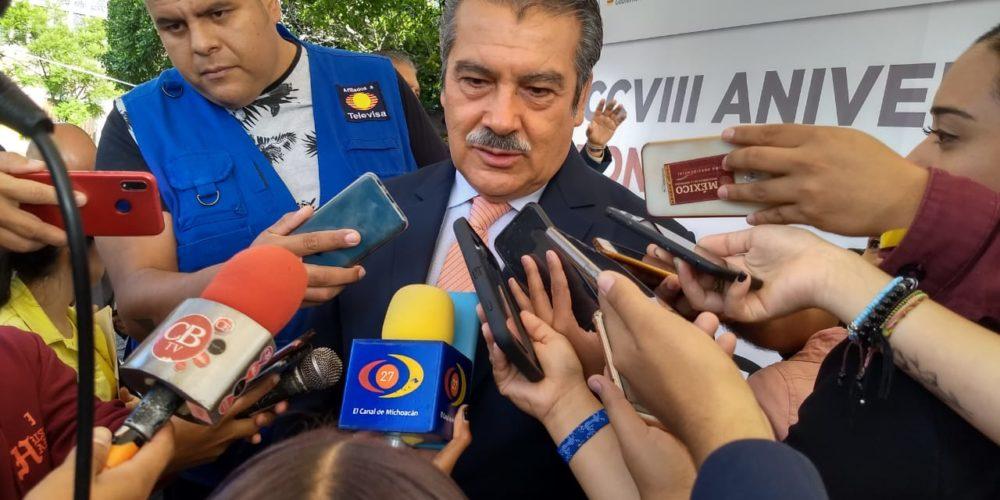 Presidente de Morelia desconoce cuántas luminarias están afectadas