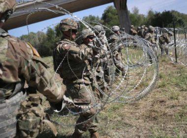 Más soldados de EE.UU. en frontera con México