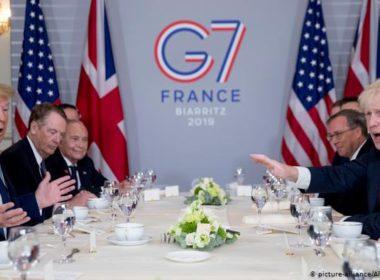 G7 ayudará en incendios en la Amazonía