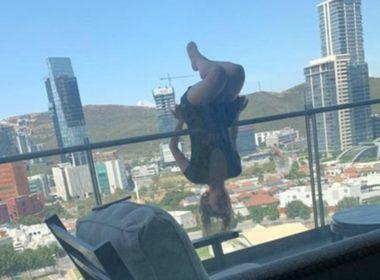 Cae joven del quinto piso practicando 'yoga extrema'