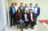 Diputados Locales de Morena con Mario Delgado