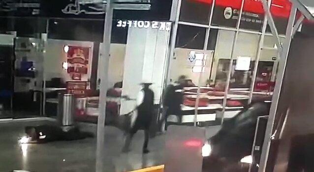 #Video Asesinan a policía en Centro Comercial Plaza Espacio Interlomas