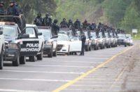 200 policías y drones refuerzan seguridad de Uruapan
