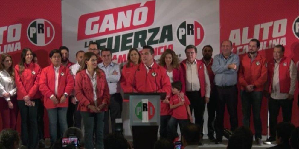 "Oficialmente ""Alito"" Moreno se lleva la presidencia nacional del PRI"