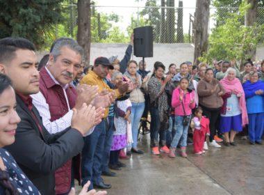 Habitantes de Teremendo exigen a Raúl Morón alumbrado y bacheo