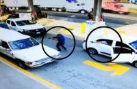 #Video Acribillan a sujeto en gasolinera de Uruapan