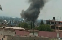 Explosión de pirotecnia en Edomex deja un muerto