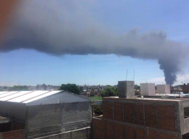 Vecinos de ciudad industrial reportar explosiones en la empresa de plástico