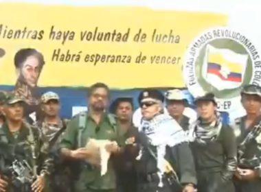Disidente de las FARC anuncia retome de armas en Colombia