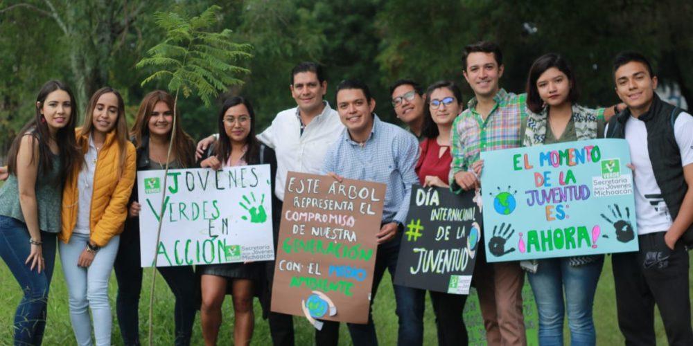 Con acciones, conmemora Partido Verde Michoacán día de la juventud